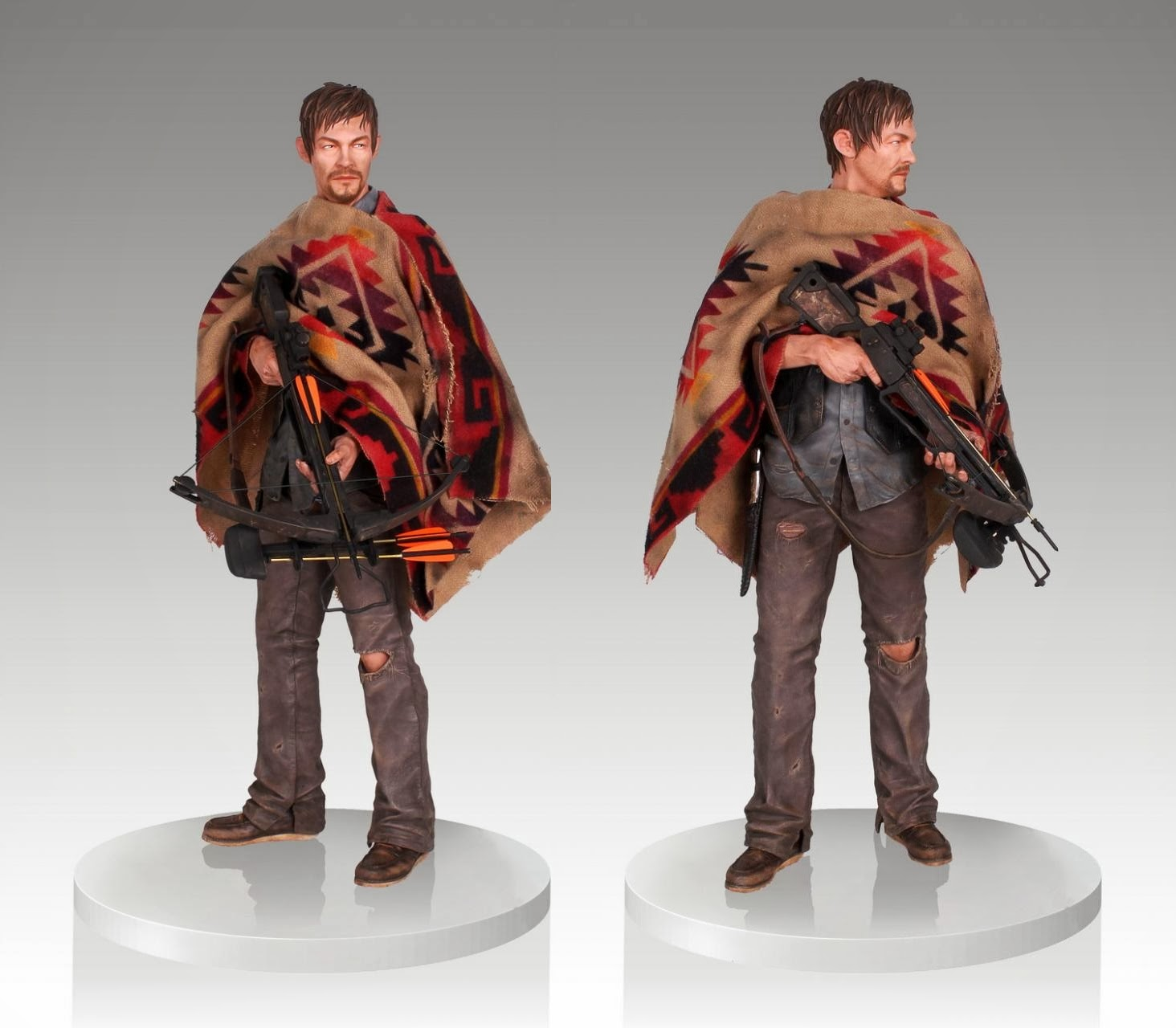 The Walking Dead - Daryl Dixon statue (Gentle Giant)