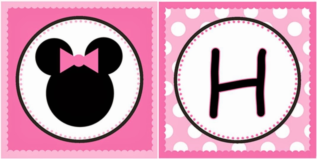 minnie mouse sweet free printable party kit