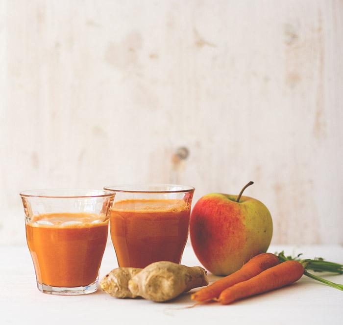 Vorstellung des Kuvings Whole Slow Juicer und Rezept für Karotten-Apfel-Ingwer-Saft