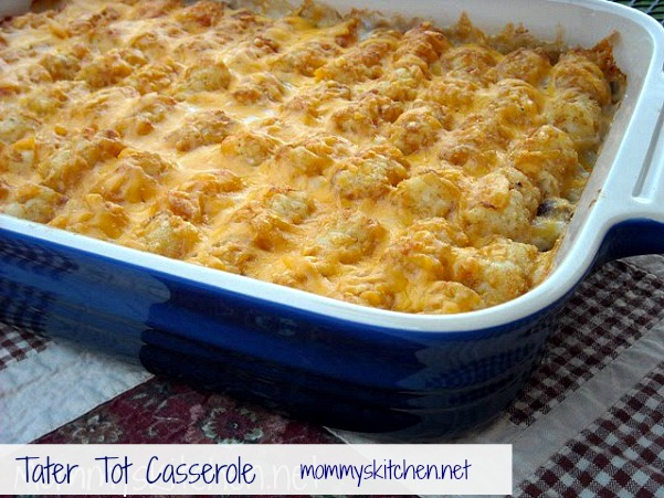 recipe: do you cover tater tot hotdish [2]