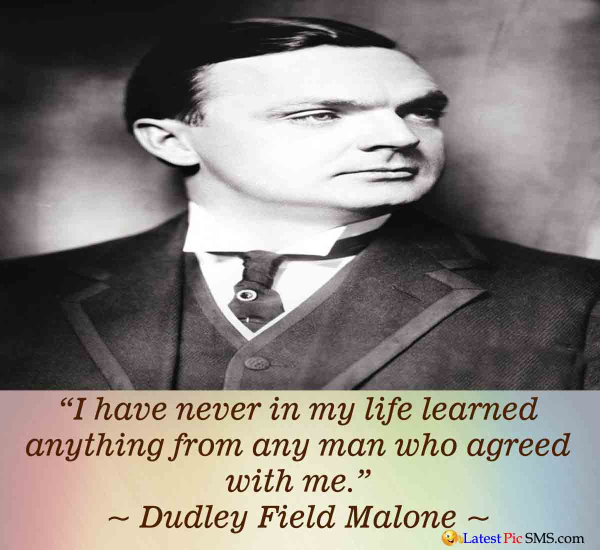 Dudley Field Malone Life Thought