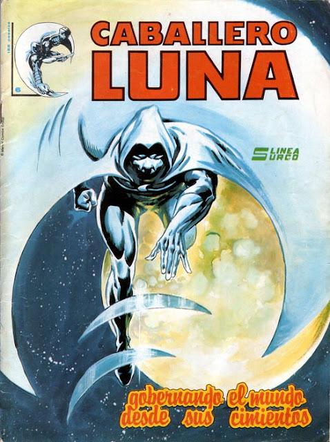Portada del Caballero Luna Nº 6 Ediciones Surco