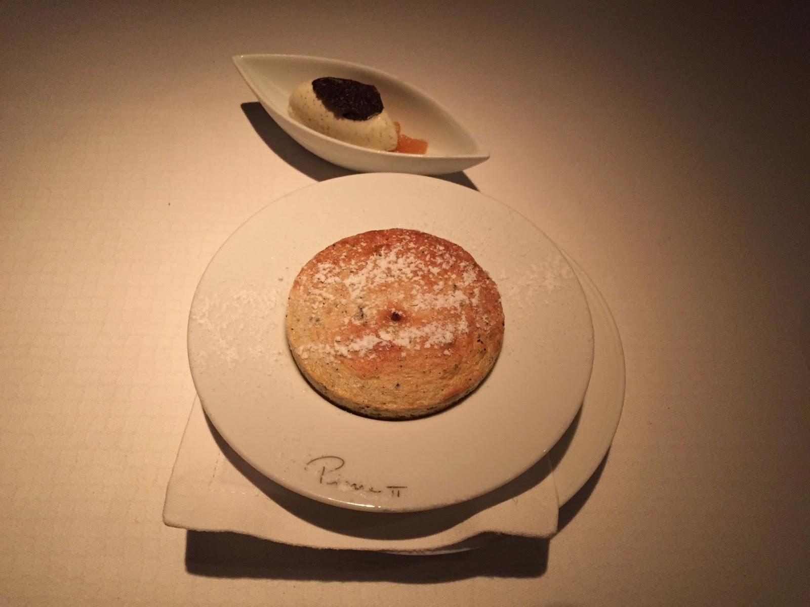 Pierre Mandarin Oriental Hong Kong restaurant french michelin star vanilla black truffle souffle