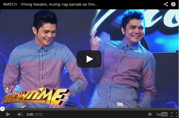 WATCH Vhong Navarro dance again in Showtime