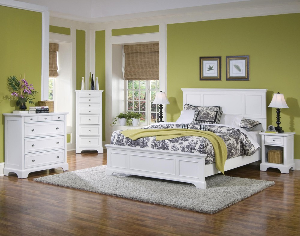 White Queen Bedroom Furniture Sets