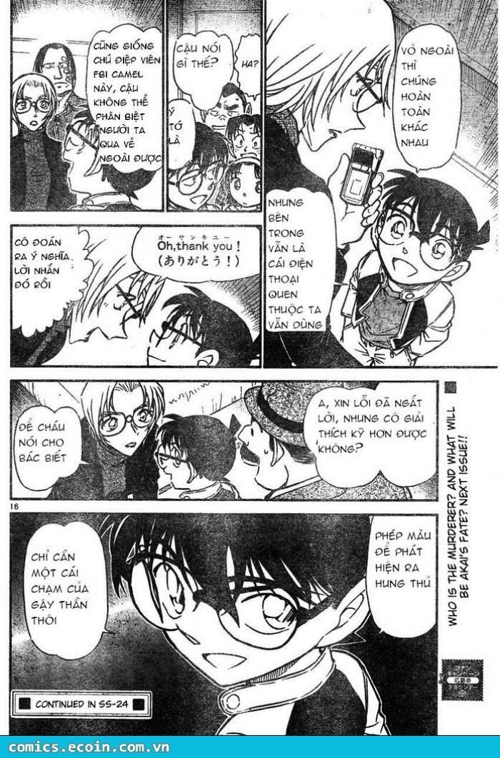 Detective Conan - Thám Tử Lừng Danh Conan chap 607 page 16 - IZTruyenTranh.com