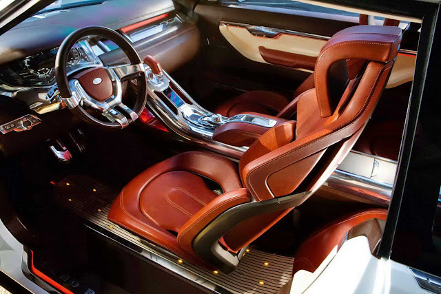 2012 Land Range Rover Evoque Revealed Interior