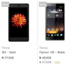 Checkout New Price For Latest Tecno Phones