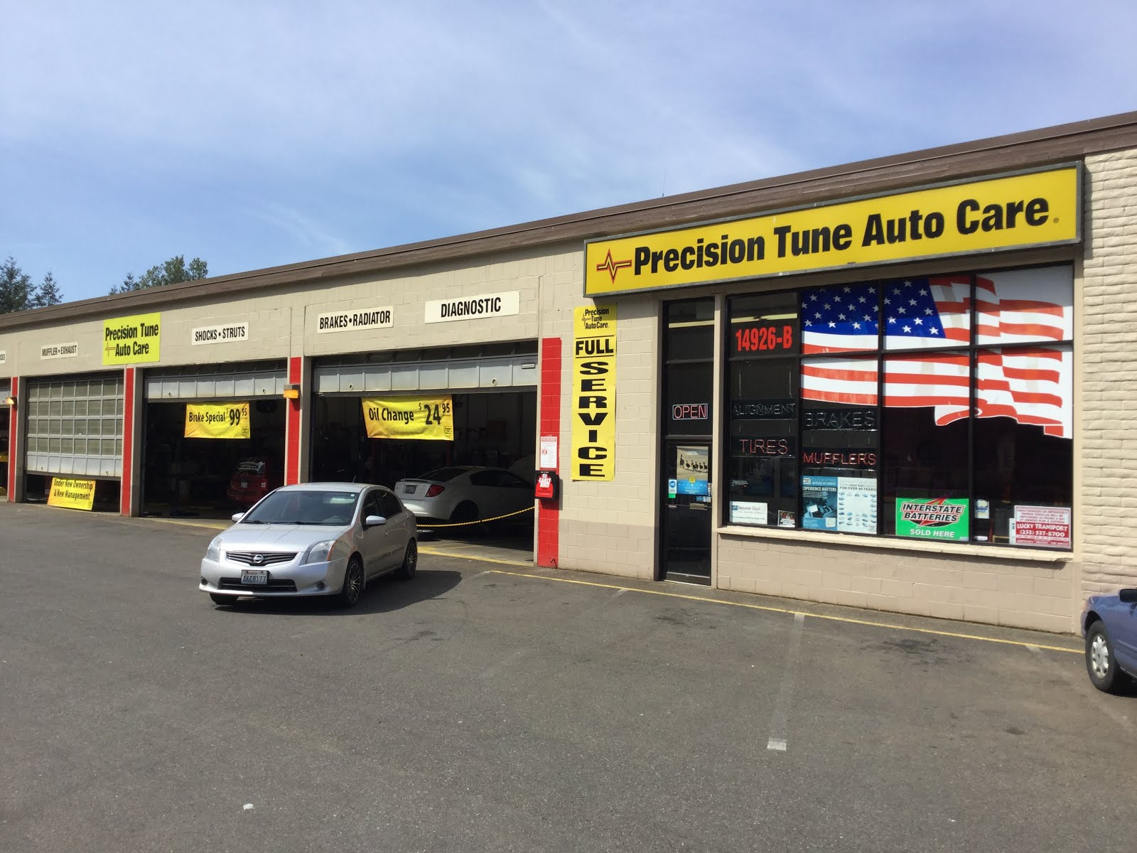 Precision Tune Auto Care Parkland-Spanaway WA  Does Vehicle Maintenance for Lew's Guy Stuff ©