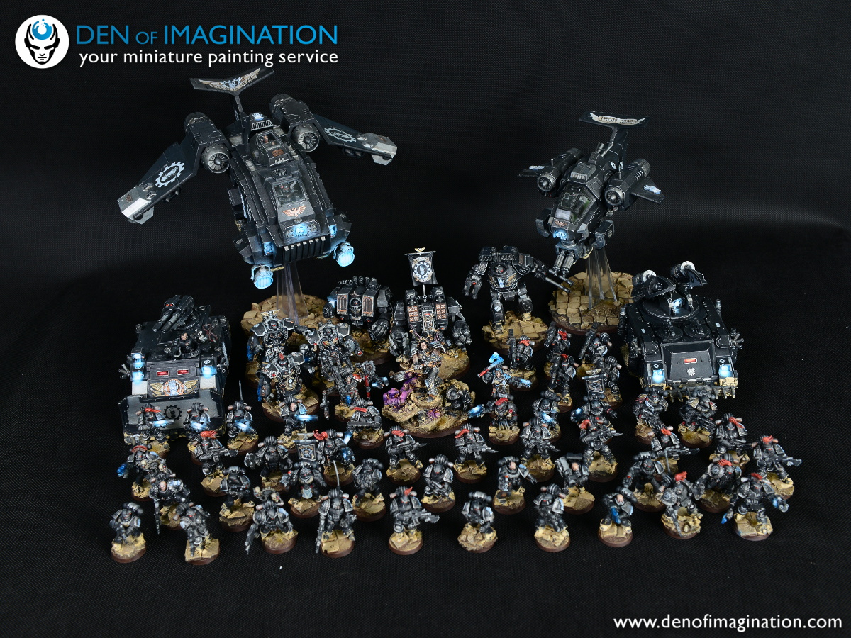 Painting Forge World Iron Hands