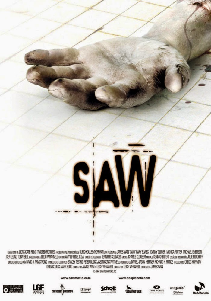 Filme jogos mortais, Saw.
