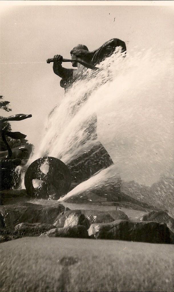 Gefion Fountain 1950s