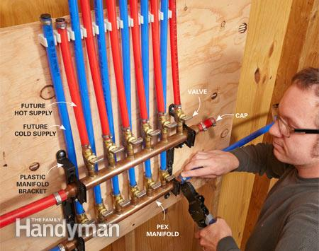 Do it yourself green building with jerry young 10 22 15 for Using pex for drain lines