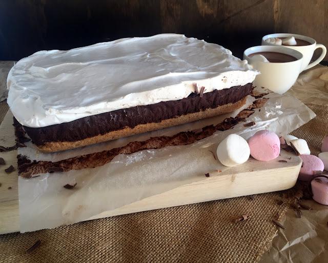 Hot Chocolate Slice Cassie Cakes