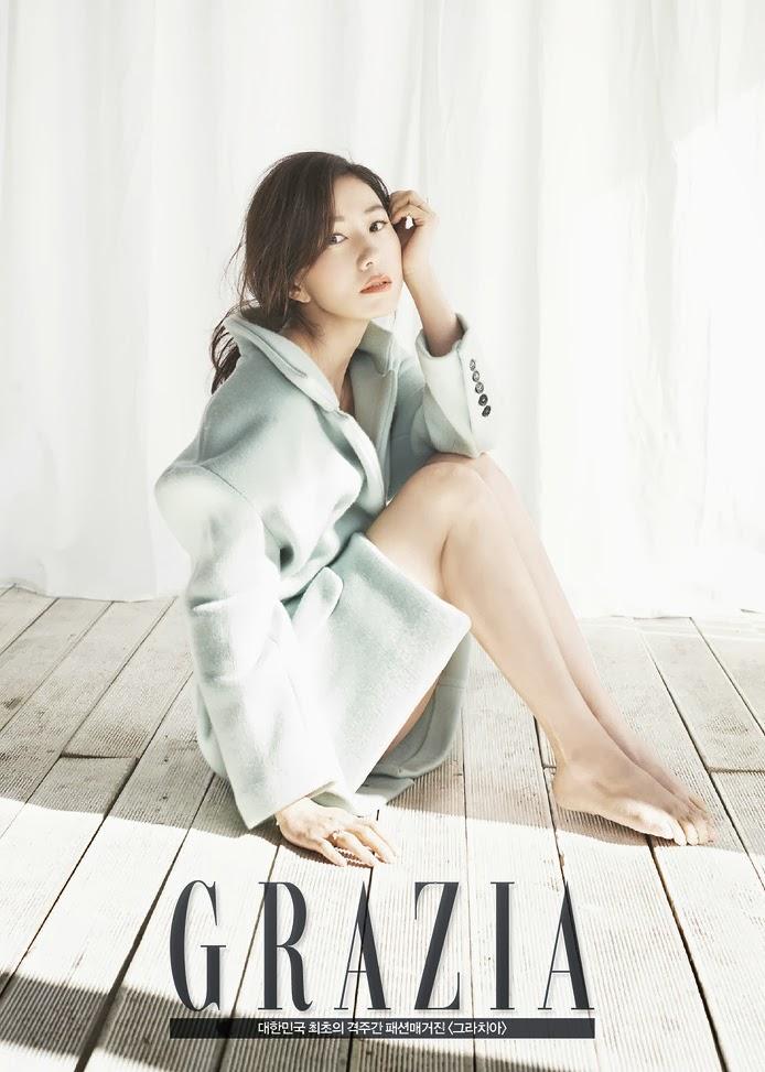 Kim Hee Ae - Grazia Magazine March Issue 2014
