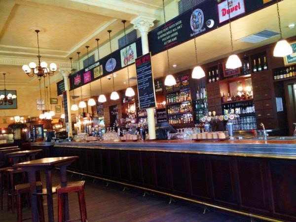 City Hotel now Belgian Beer Cafe' - Bar area
