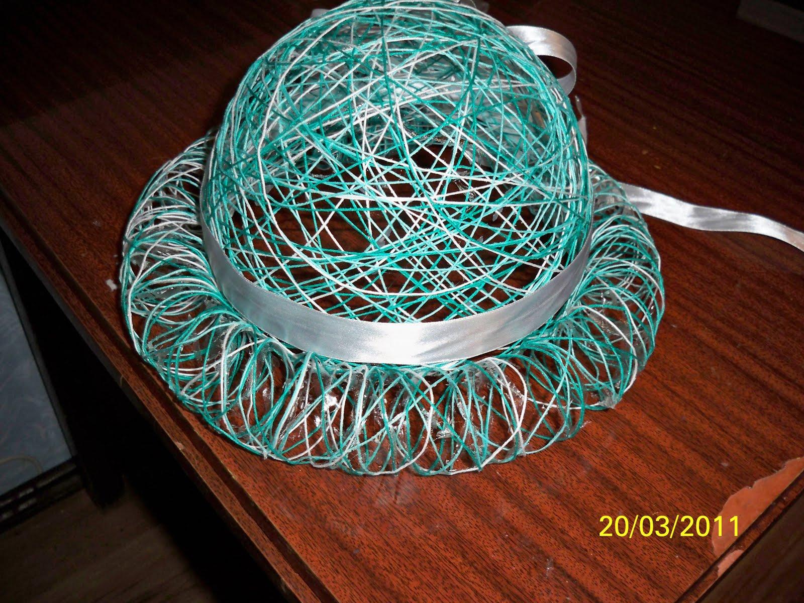 Поделки с помощью ниток