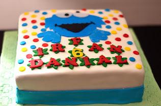Birthday cake (fondant)