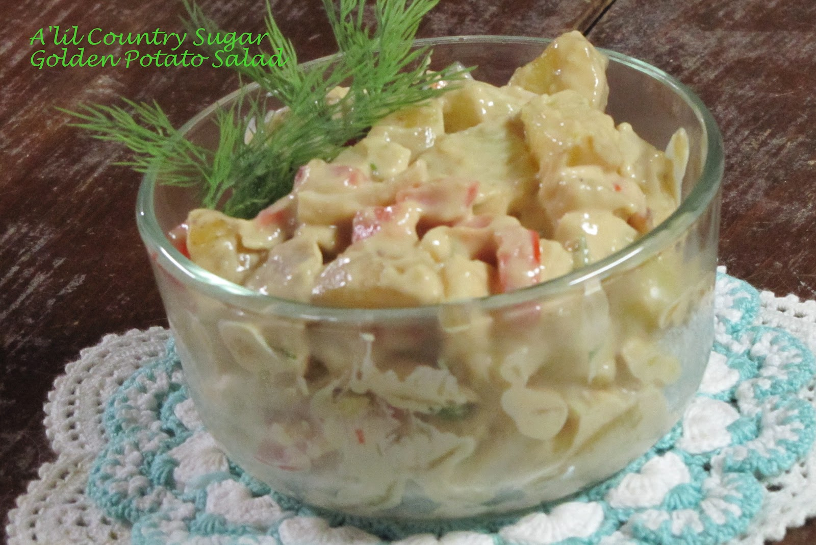 A'lil Country Sugar: Not The Norm: Golden Potato Salad