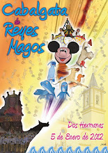 Cartel Cabalgata Reyes Magos 2012