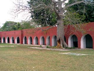 Caballerizas Patio Convento Conkal Yucatan