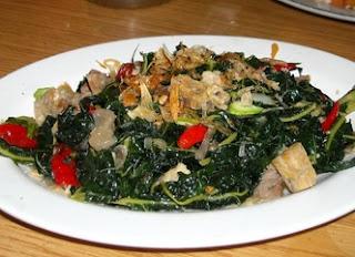 resep, cara memasak dan menghilangkan rasa pahit Tumis Daun Pepaya