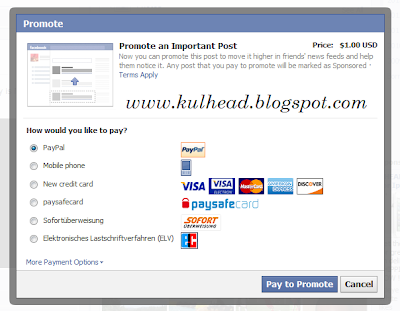 kulhead.blogspot.com: promote your business on facebook