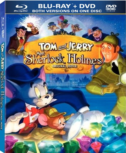 Tom and jerry meet sherlock holmes 2010 Hindi Dubbed Dual BRRip 250mb