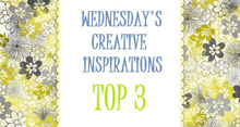 Top 3 for Creative Inspirations