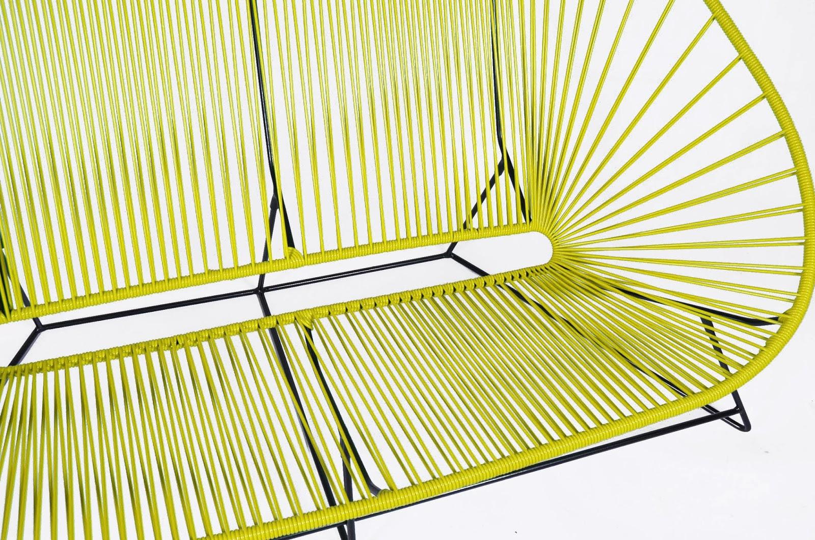 mobilier scoubidou le canap acapulco. Black Bedroom Furniture Sets. Home Design Ideas