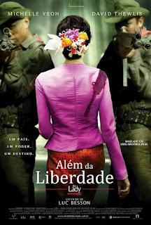 """Pôster nacional do filme """"Além da Liberdade"""""""