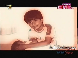 Shahid Kapoor Childhood Pictures