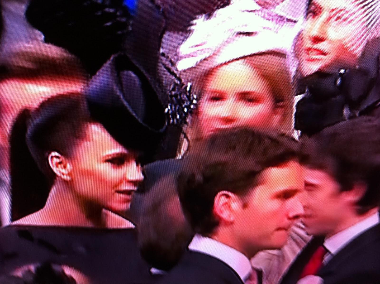 Royal Wedding Scenes Kate Middleton to Prince William: Rolls Royce ...