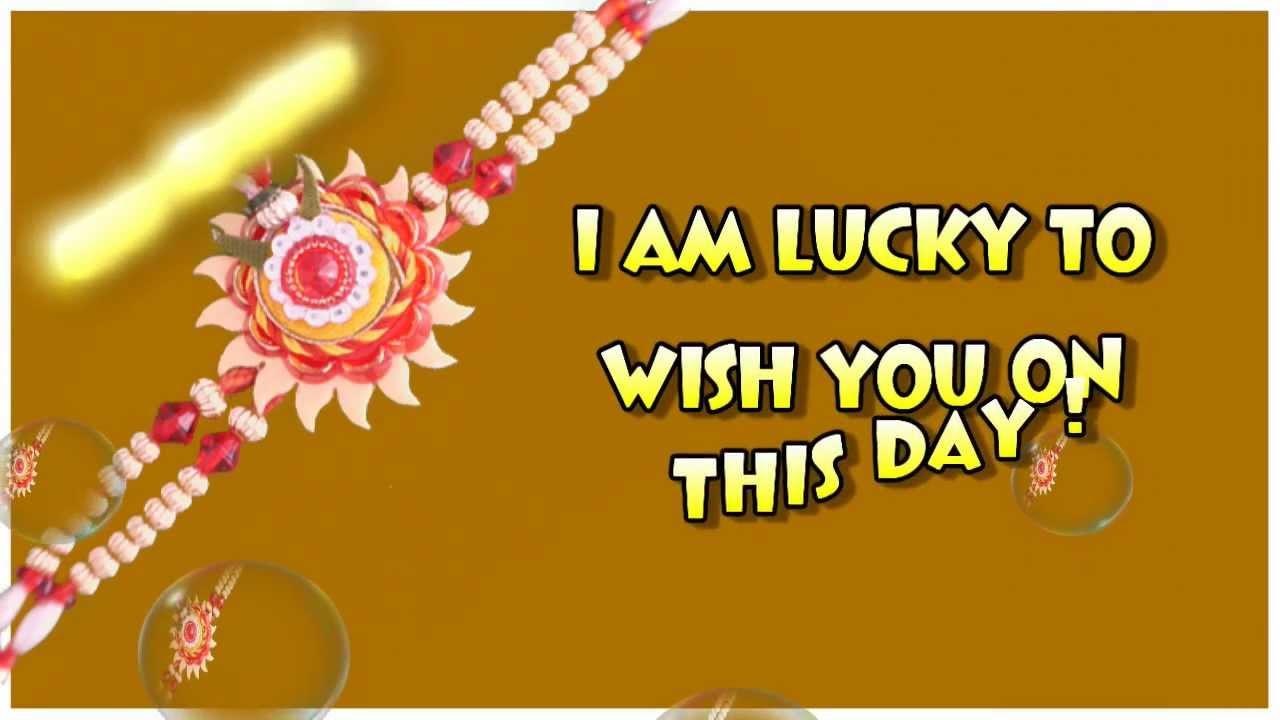 Greeting Cards For Raksha Bandhan Raksha Bandhan Cards Poem On