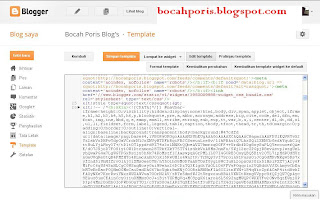 Cara Memasang Background Pada Kotak Komentar di Blogger