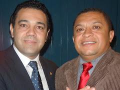 DEPUTADO FEDERAL MARCO FELICIANO E JOSE ANTONIO EM BRASILIA.
