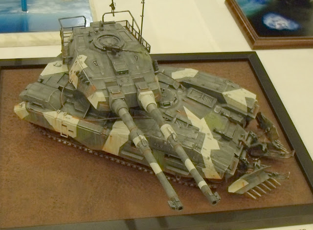 Sci-Fi Tank Model