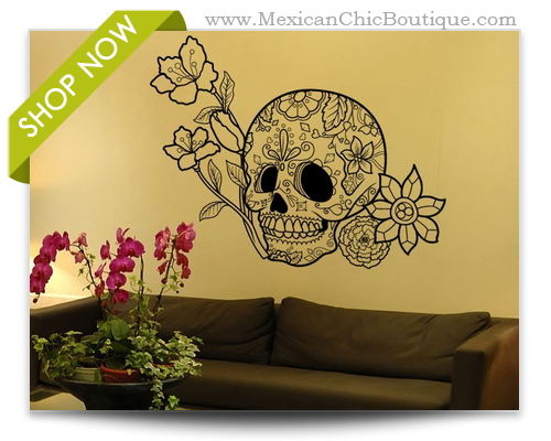 Sugar Skulls | Large Wall Decal