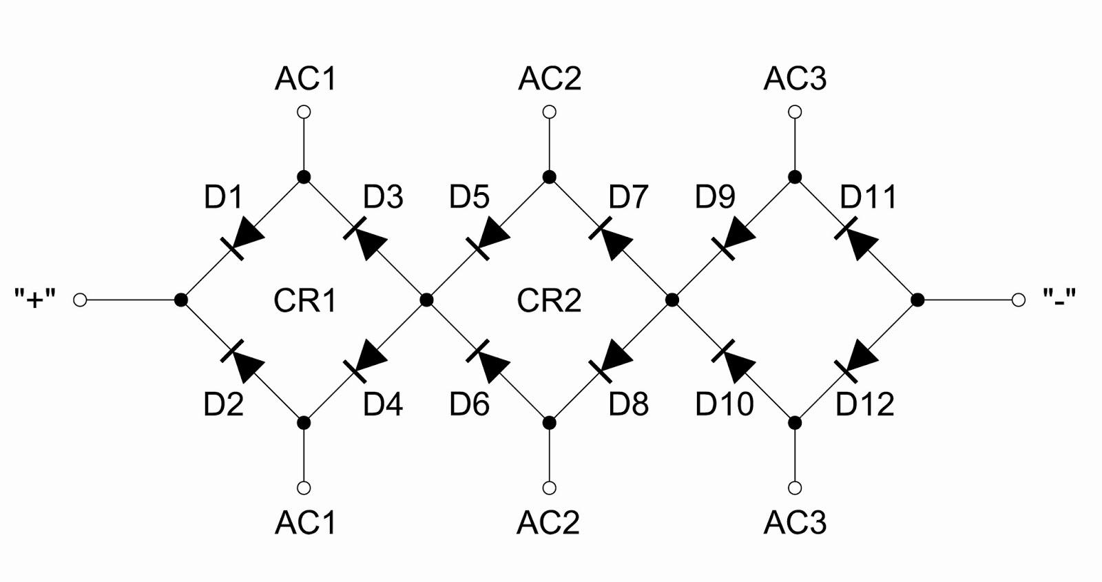 Voltage Multipliers Inc Stacked Single Phase Bridge Rectifier Multiplier Circuit Diagram Wiring Schematic