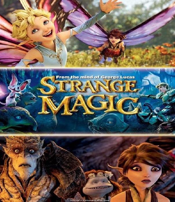 STRANGE MAGIC (2015) มนตร์มหัศจรรย์ [ผลงานสร้างสรรค์ของจอร์จ ลูคัส] [MASTER] [1080P] [SOUNDTRACK บรรยายไทยมาสเตอร์]