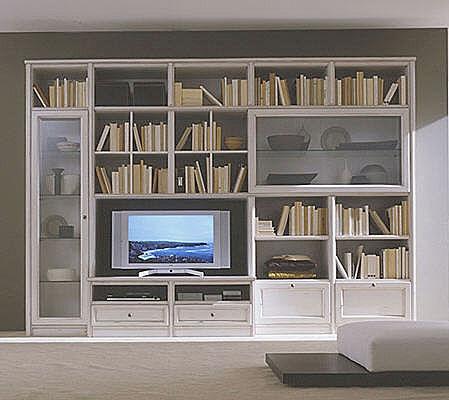 Bibliotecas modernas for Bibliotecas muebles modernos
