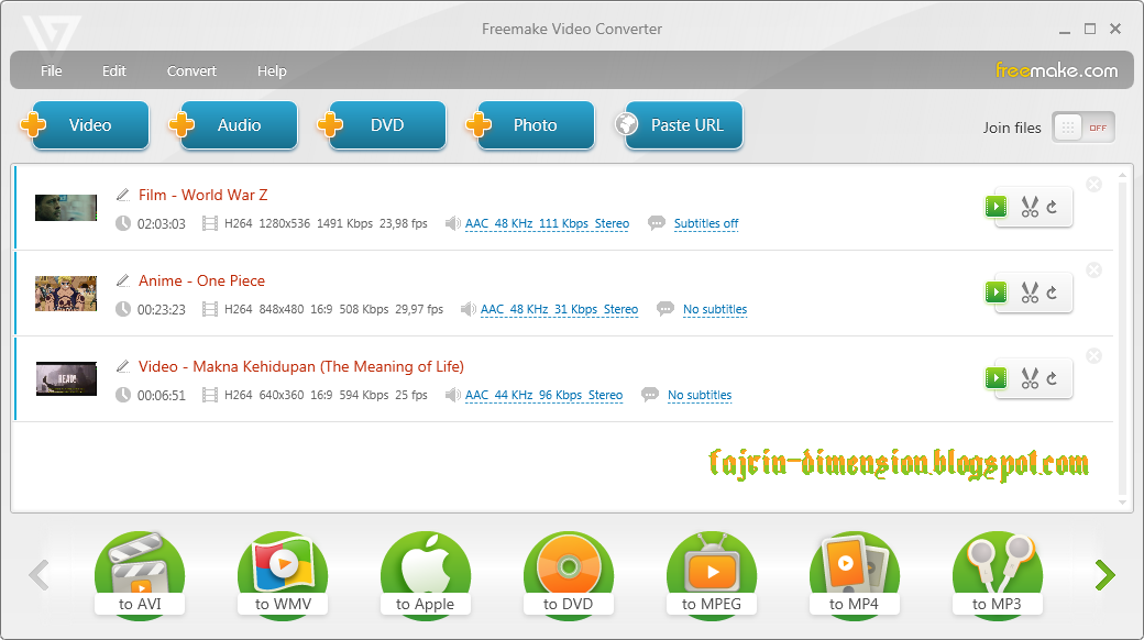 Software, Freemake Video Converter
