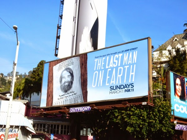 Last Man On Earth billboard