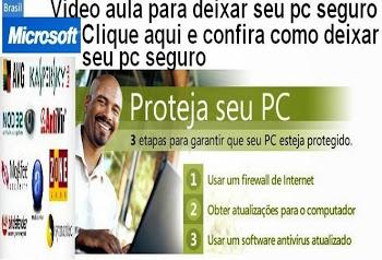 DEIXE SEU COMPUTADOR SEGURO