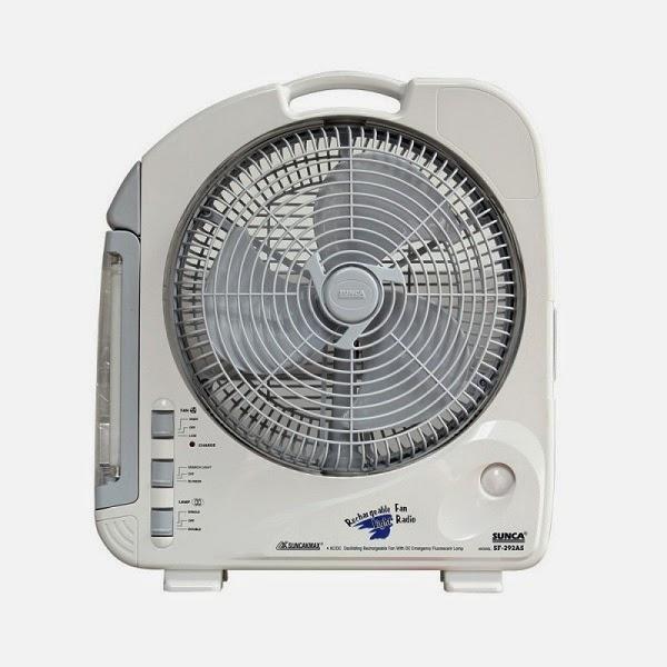 Tư vấn kinh nghiệm chọn mua quạt sạc điện vào mùa nóng