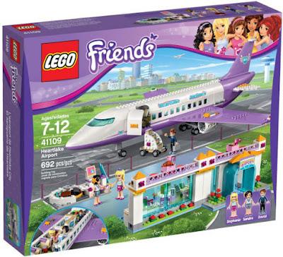 JUGUETES - LEGO Friends  41109 El Aeropuerto de Heartlake  Airport Heartlake  Producto Oficial 2015 | Piezas: 692 | Edad: 7-12 años