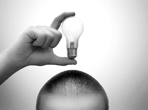 Ideias na cabeça