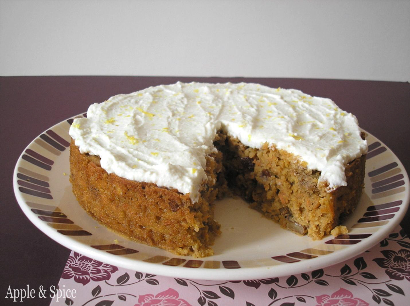 Apple carrot cake recipes