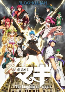 Magi: The Kingdom of Magic 3gp Mp4 Sub Indonesia