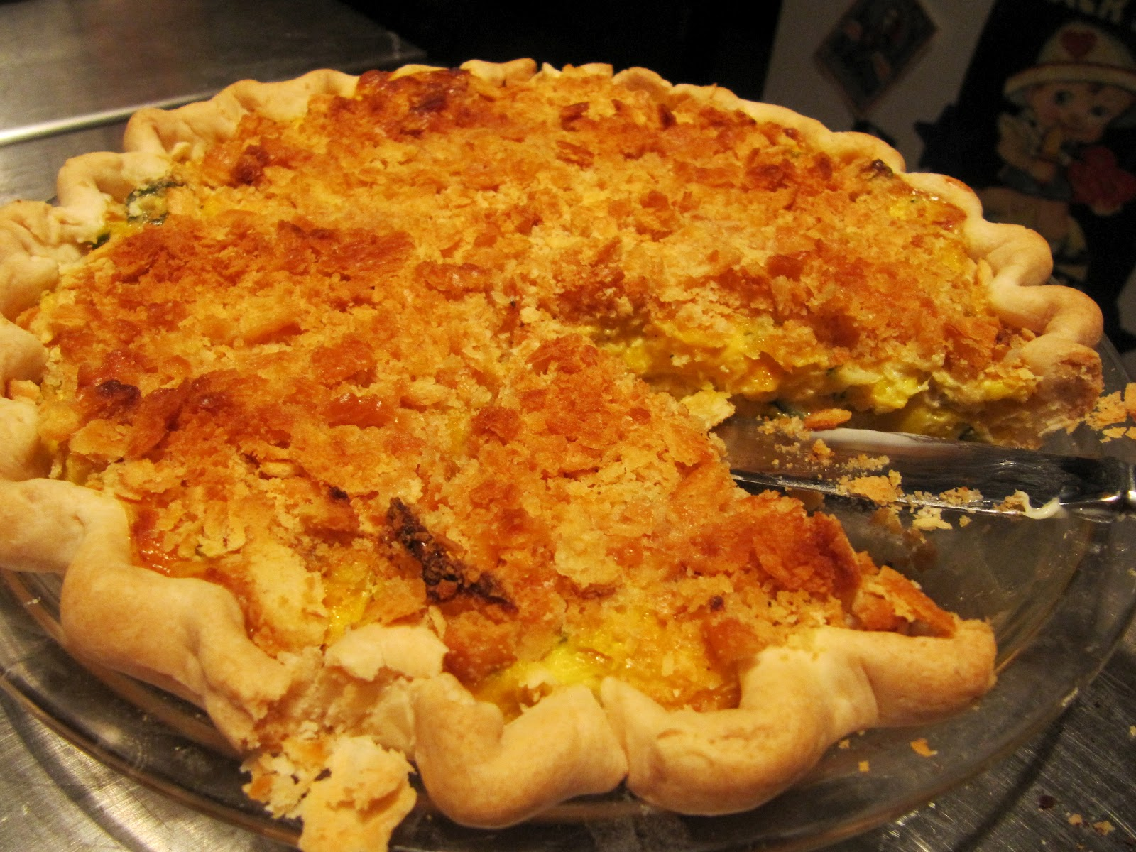 Mama Ozzy's Table: Summer Squash and Zucchini Pie
